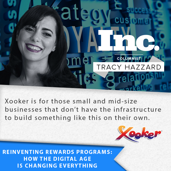 Tracy Hazzard, INC, Rewards Programs, Xooker